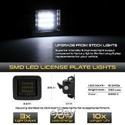 15-17 Ford F-150 C-Forme Oled Signal Feu Fumée SMD LED Plaque Immatriculation
