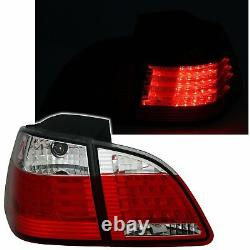 2 Feux Arriere Led Bmw Serie 5 E61 Touring 6/2003 A 3/2007 Blanc Rouge