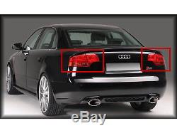 A4/S4/RS4 2005-2009 B7 8E 4-Door Sedan LED Feux Arrieres Red/Clear for AUDI