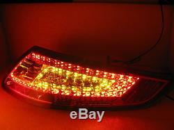 CARRERA 911 997 2005-2008 PRE-FACELIFT LED Feux Arrieres RED/SMOKE for PORSCHE