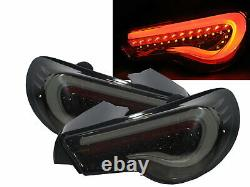FT86/GT86 ZN6 12-present Coupe LED BAR Feux Arriere Smoke US for TOYOTA