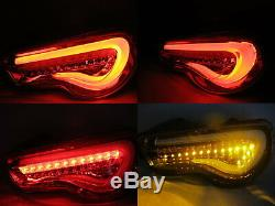 FT86/GT86 ZN6 2012-present 2D LED BAR Feux Arriere Red EUROPE for TOYOTA