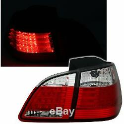 Feux Arriere Led Bmw Serie 5 E61 Touring 06/2003- 03/2007 Blanc Rouge