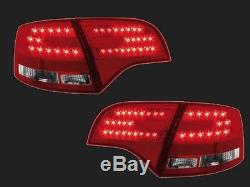 Feux Arriere Led Rouge Cristal Look A6 Rs6 Audi A4 Avant B7 Attraction Exclusiv