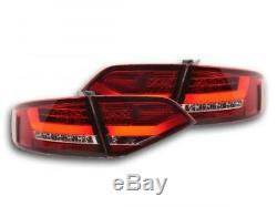 Feux arriere LED Audi A4 B8 8K Limo An. 07-11 rouge/clair 13011