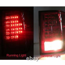 Grand Cherokee WK MK3 2007-2009 SUV 5D LED Feux Arriere Red/Smoke for JEEP