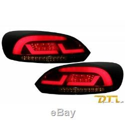 LITEC Lightbar LED Feux arriere VW SCIROCCO MK3 III (2008-2013) Red/Smoke with D
