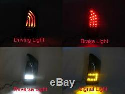 PRIUS XW30 MK3 2009-2011 PRE-FACELIFT 5D LED Feux Arriere Smoke for TOYOTA