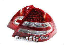 W203 04-07 LED FEUX ARRIERES W211 Look Clear MERCEDES